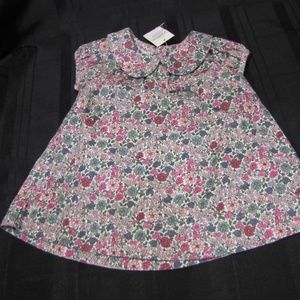 Baby Gap Girl Corduroy Dress 0-3 Floral NEW